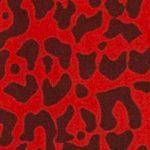 Leopardo negro-rojo