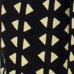 Batik triángulos Negro